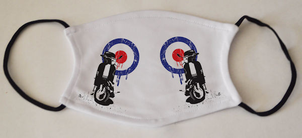 Northern Soul Face Mask Scooters