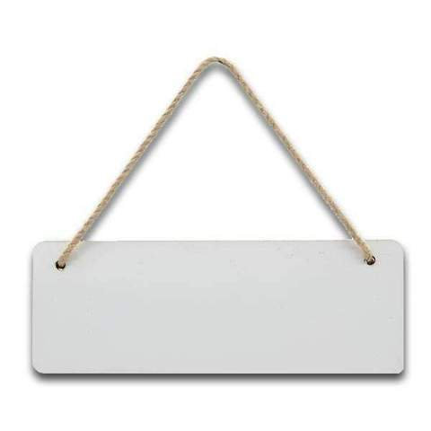 Personalised MDF Rectangle Wall Plaque