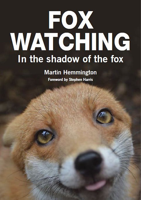 In the Shadow Of The Fox Fox Watching Book by Martin Hemmington