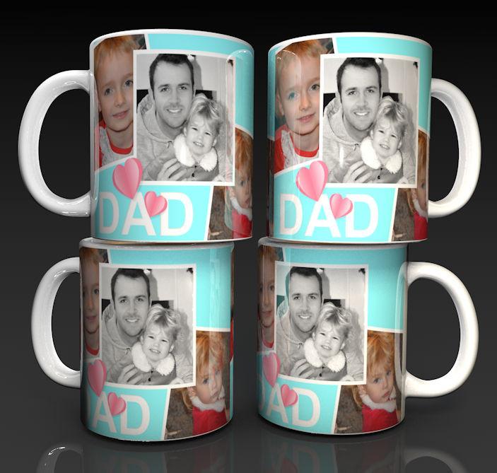 Fathers Day Mug, A personalised gift for Dad, Photo Mug, personalised Mugs