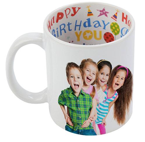Personalised Happy Birthday Photo Mugs