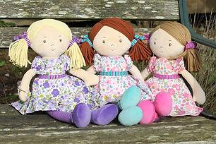 Personalised Rag Dolls | Ragdolls Personalised with a name |