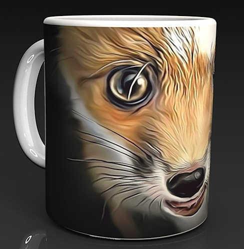 Daisy the Red Fox Ceramic Mug