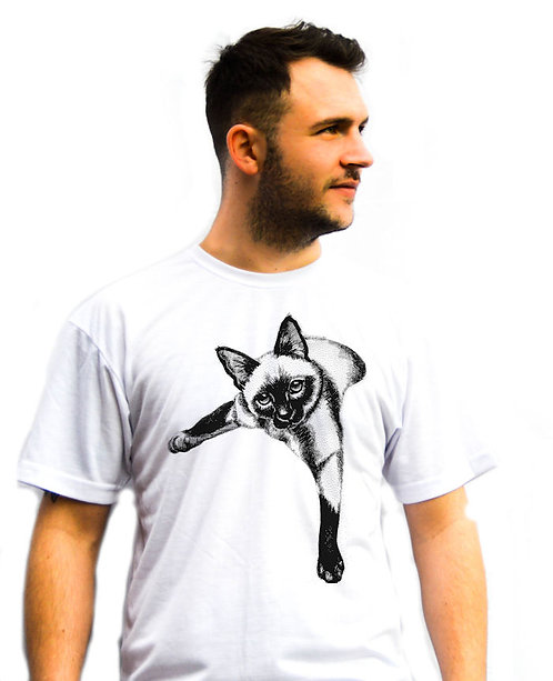 Unisex Black Cat Chill T-Shirt
