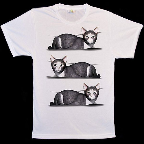 Siamese Cat Steps T-Shirts