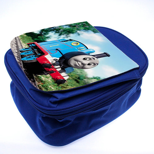 Blue Personalised kids lunch box