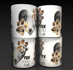 FOX FOOD Money Box | Ceramic Money Box | Personalised Money Box |
