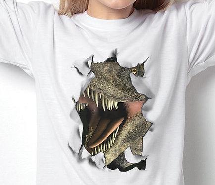 Unisex Children's T-Shirts Dino Breakout