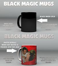 Personalised Valentine's Gifts | Black Magic Mugs | Photo Mugs | Valentine's Day Gift Ideas |