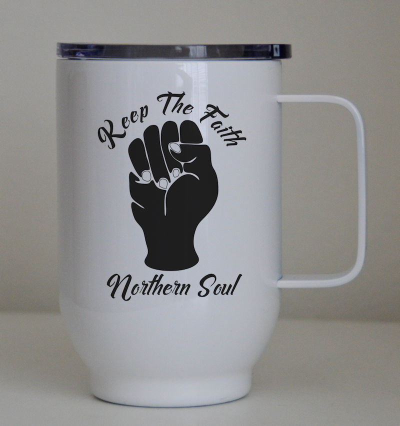 Northern Soul Mugs Keep The Faith Northern Soul