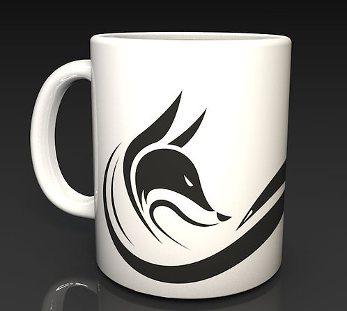 New Fox Logo Ceramic Dishwasher Safe Mug