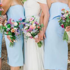 July pastel bridals