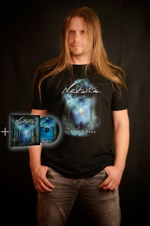 T-Shirt & CD Finally Free