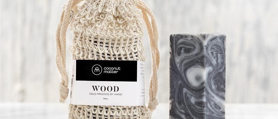 Coconut Matter 磨砂皂 - WOOD