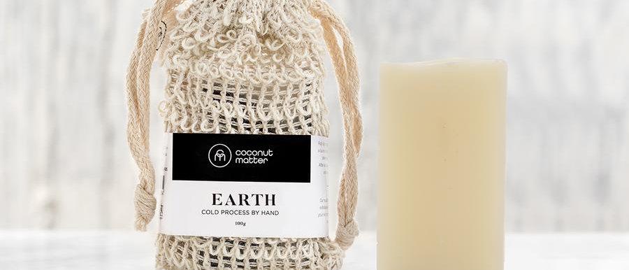 Coconut Matter 磨砂皂 - EARTH