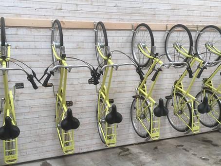 Hasp-O Zuid: nieuwe fietsen