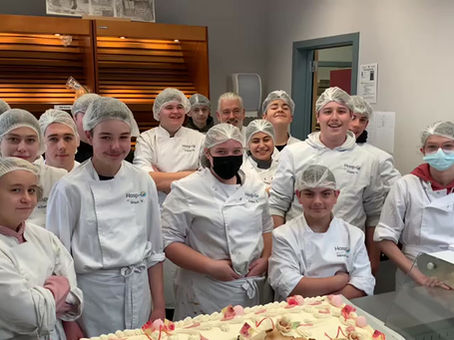 Hasp-O Zuid: opleiding bakkersgast bakt voor ACV Limburg