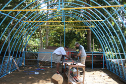 Greenhouse in process