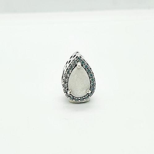 The Teardrop double-sided Charm Bracelet Bead
