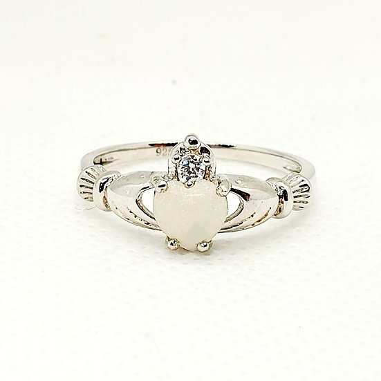 The Claddagh Inclusion Ring