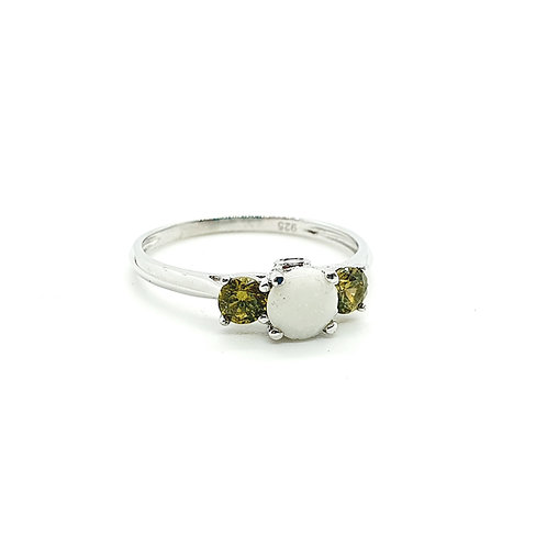 The Birthstone Inclusion Ring