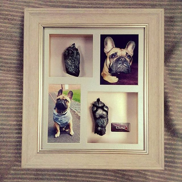 Some lovely little framed casts for this