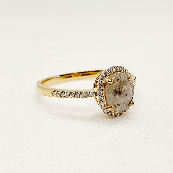 The Opulence Inclusion Ring (yellow, rose or white gold)