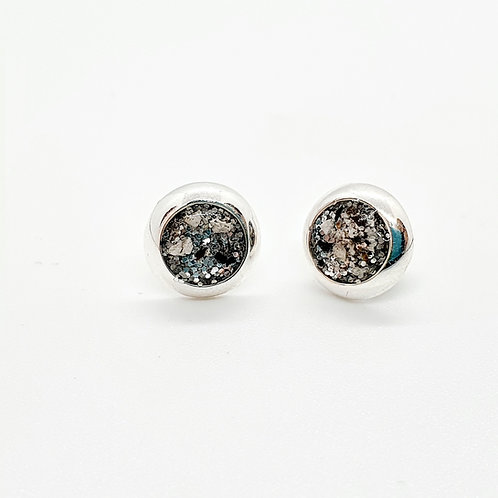 Simple Studs Inclusion Earrings