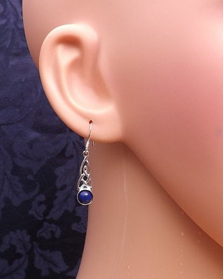 The Celtic Drop Inclusion Earrings
