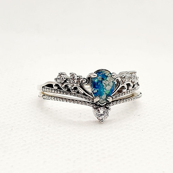 The Empress Stacking Inclusion Ring