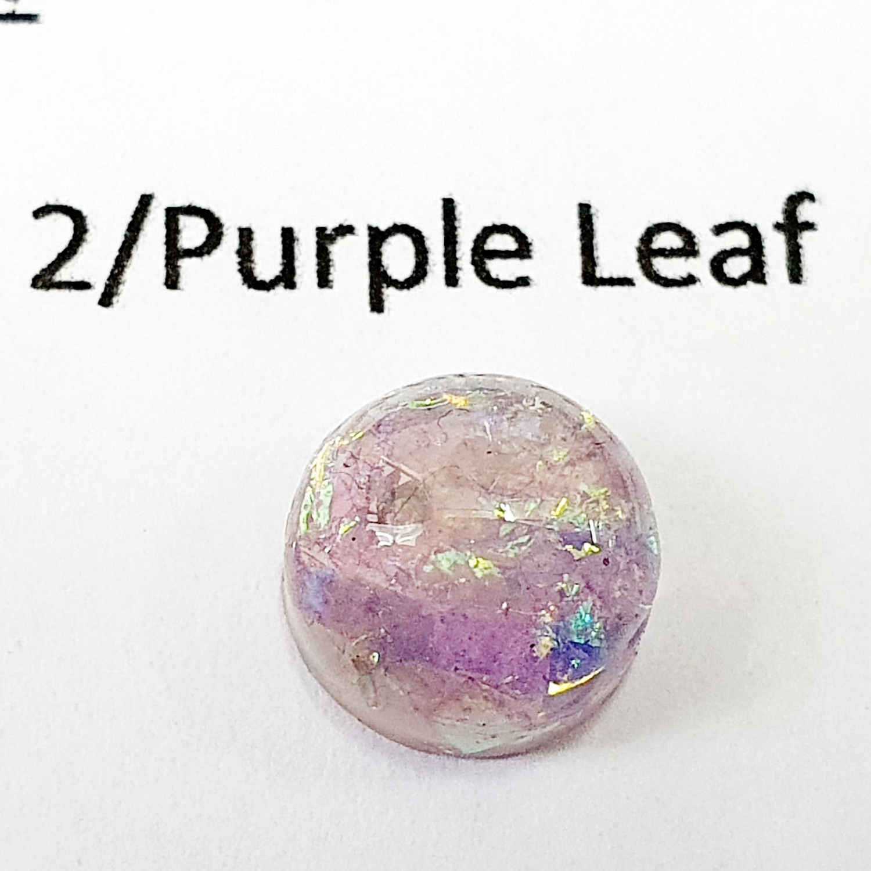 Purple Iridescent leaf