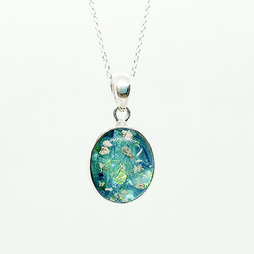 The Little Oval Inclusion Pendant