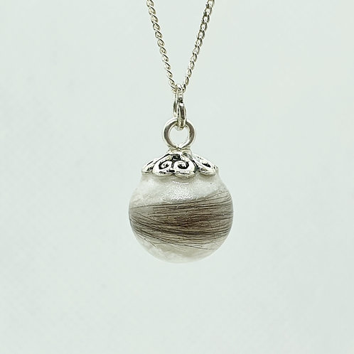 The Simple Pearl Inclusion Pendant