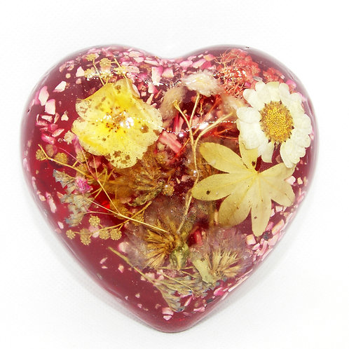 The Large Heart Paperweight
