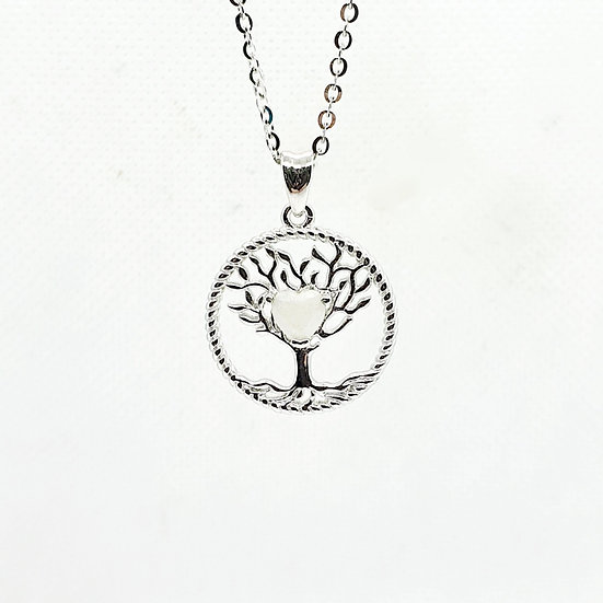 The Tree of Life Inclusion Pendant