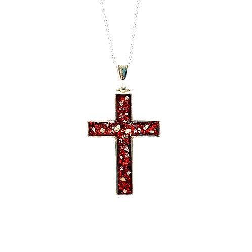 The Cross Inclusion Pendant