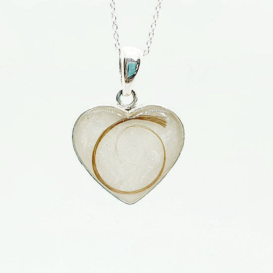 The Aphrodite Heart Inclusion Pendant