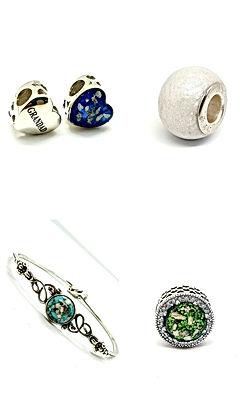 ashes charm beads breastmilk charm bead