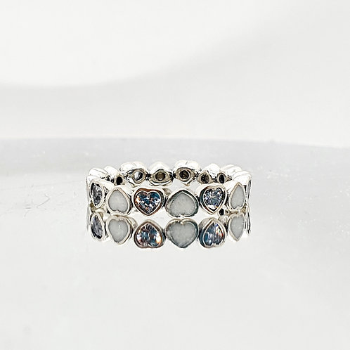 The Eternal Hearts Inclusion Ring