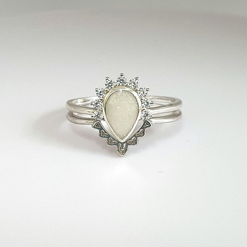 The Stephanie Stacker Inclusion Ring