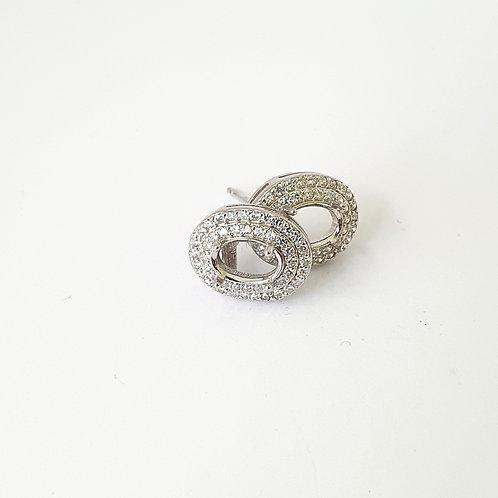 6x8mm oval earrings