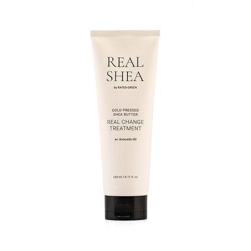 RATED GREEN Real Shea Питательная маска для волос с маслом ши и авокадо