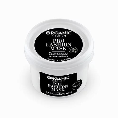 Organic Kitchen Маска для восстановления волос от блогера @k_dobryakova