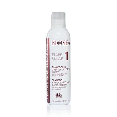 BIOSEA Шампунь для окрашенных и повреждённых волос Force and Balance