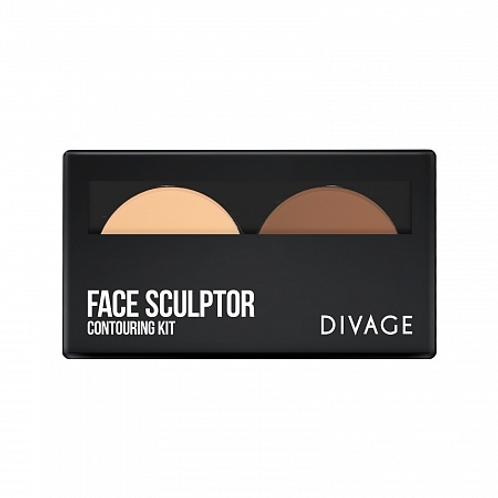 DIVAGE Face Sculptor Палетка для скульптурирования лица
