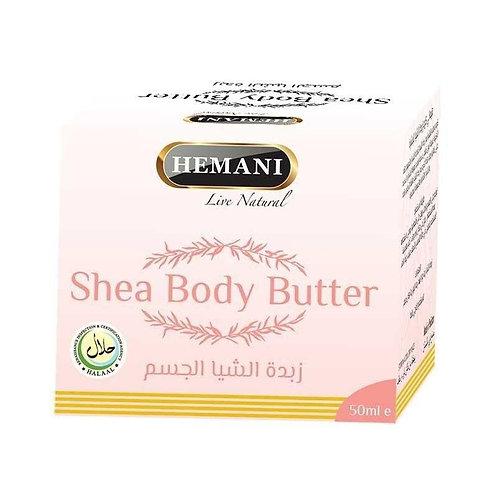 Hemani Увлажняющее масло для тела с маслом Ши
