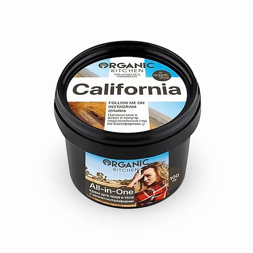 "Organic Kitchen Крем для лица и тела ""California"" от блогера @itolkie"