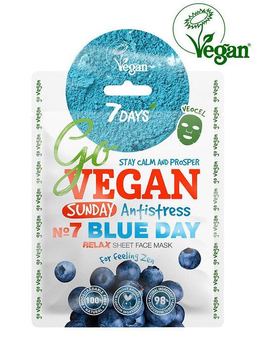 VILENTA 7DAYS Go Vegan Sunday Тканевая маска для лица восстанавливающая