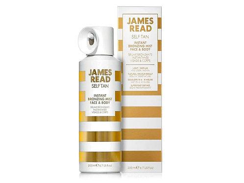 JAMES READ Instant Bronzing Mist Спрей-автозагар для лица и тела