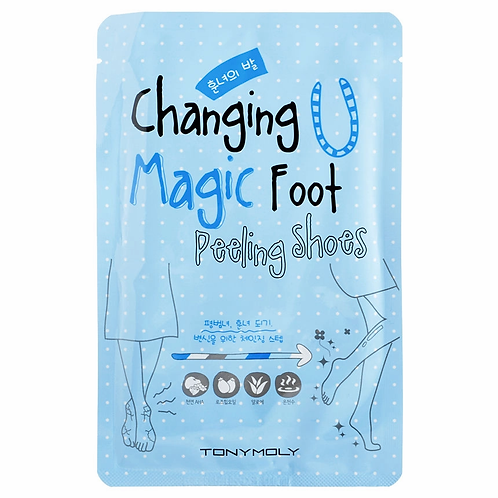 Ночоски-пилинг для ног Tony Moly Changing U Magic Foot Peeling Shoes